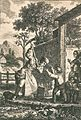 Haute-Savoie, Bossey- Jean-Jacques Rousseau chez le pasteur Lambercier.jpg