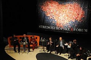 Central European Forum - Ingo Schulze, Miroslav Kusý, Ágnes Heller, Václav Havel, Jacques Rupnik, Robert Menasse, Krzysztof Czyzewski - Central European Forum 2009