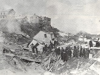 Haverstraw (village), New York - Great Haverstraw Landslide of 1906