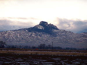 Heart Mountain (Wyoming) - Image: Heart Mountain Wyoming
