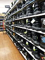 Heavy duty winter boots for sale at the Walmart, Thompson, Manitoba.JPG