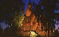 Heddal Stave Church at night 1.jpg