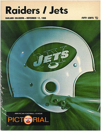 1965 New York Jets season - The Jets adopted this helmet and logo design in 1965.