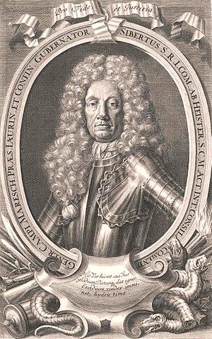 Sigbert Heister - Portrait of Sigbert Heister