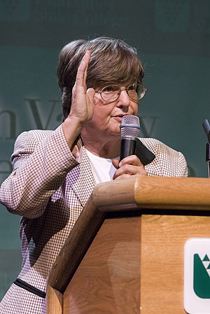Anti-Death Penalty crusader Sister Helen Prejean