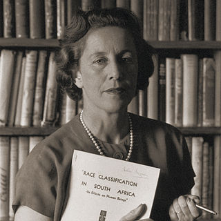 Helen Suzman South African politician