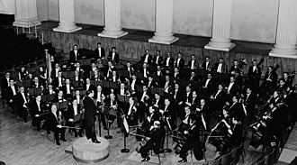 Helsinki Philharmonic Orchestra - The orchestra in 1965, with conductor Jorma Panula.