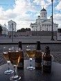 Helsinki Cathedral on 18th July 2016 Café Engel 6.jpg