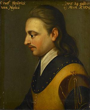 Hendrik van Nassau (Wybrand de Geest, 1635)