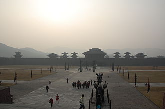 Hengdian World Studios - A reconstitution of Qin Imperial Palace at Hengdian World Studios