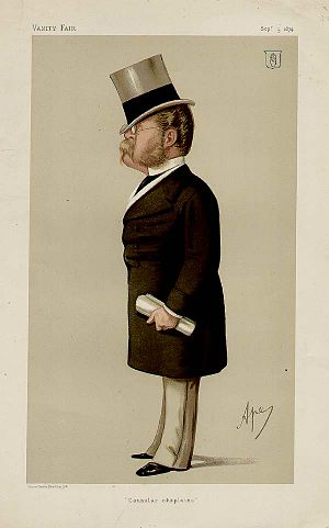 Henry Drummond Wolff - Caricature by Ape published in Vanity Fair in 1874.