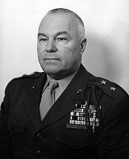 Henry Louis Larsen United States Marine Corps Lieutenant General and Governor of Guam
