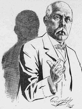 Henry S. Rowe - A sketch of Rowe, 1905