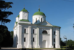 George (Dormition) Cathedral in Kaniv.