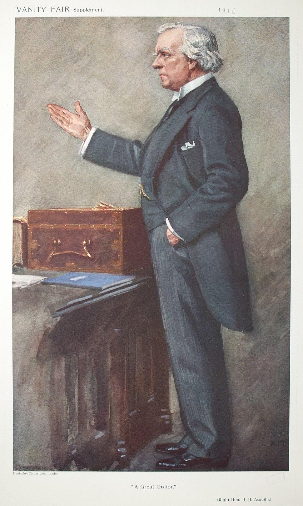 Herbert Henry Asquith Vanity Fair 17 March 1910