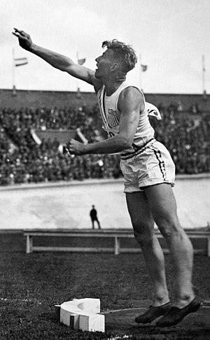 Bruce Bennett - Herman Brix at the 1928 Olympics