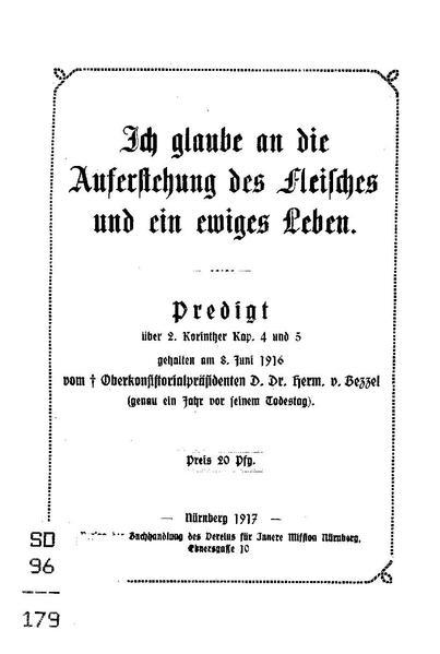 File:Hermann von Bezzel - Ich glaube an die Auferstehung des Fleisches und ein ewiges Leben.pdf