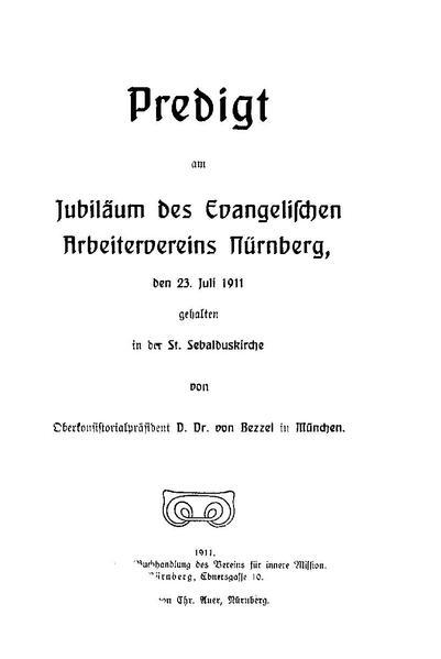 File:Hermann von Bezzel - Predigt am Jubiläum des Evangelischen Arbeitervereins Nürnberg.pdf