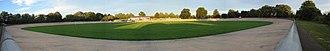 Herne Hill Velodrome - Image: Herne Hill velodrome pano