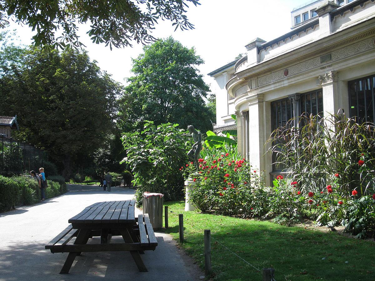 M nagerie du jardin des plantes wikidata for Jardin des plante