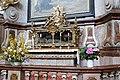 Herzogenburg - Stiftskirche, Reliquiensarkophag des hl. Urbanus.JPG