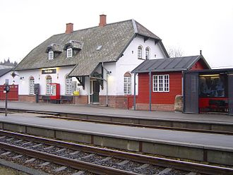 Herfølge - Herfølge railway station