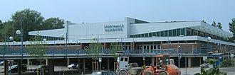 Alsterdorfer Sporthalle - Exterior of venue (c.2006)