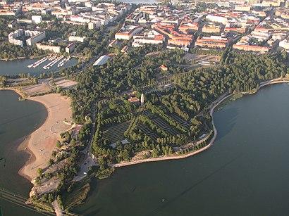Kuinka Paasta Kohteeseen Hietaniemi Paikassa Helsinki
