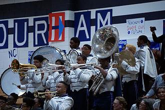 Hillside High School (Durham, North Carolina) - The school's band