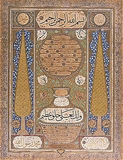 Ottoman calligrapher and poet,
