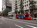 Hinomaru Mitsubishi Bldg Bus stop.jpg