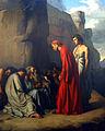 Hippolyte Flandrin - Le Dante, conduit par Virgile, offre des consolations aux âmes des Envieux.jpg