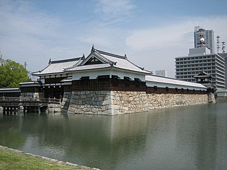 Hiroshima Castle - Part of the reconstructed ninomaru