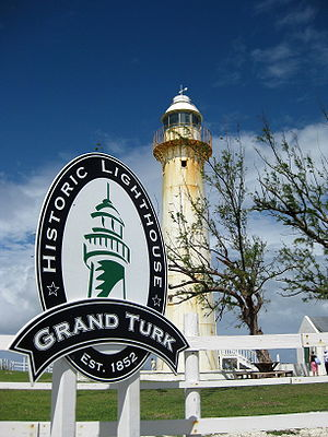 Turks and Caicos Islands - The 1852 lighthouse on Grand Turk