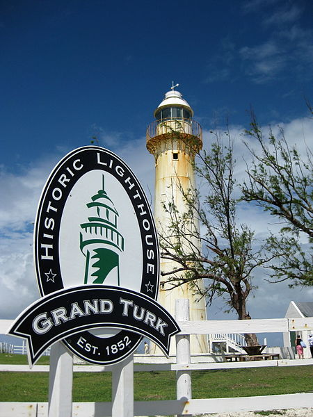 Historic Lighthouse Park on the northern tip of Grand Turk Island.