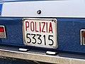 Hobby Model Expo 2013 Alfa Romeo Alfetta targa automobilistica Italia 1976 53315 Polizia Nazionale posteriore.jpg