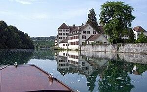 High Rhine -  The High Rhine at Rheinau