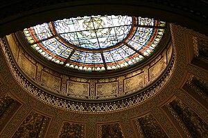 Church of the Holy Trinity, Philadelphia - Skylight over the altar