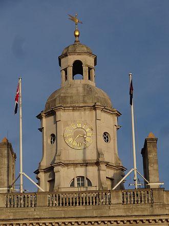 Benjamin Lewis Vulliamy - Horse Guards tower
