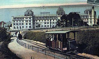 Évian-les-Bains - Postcard of Évian, 1907