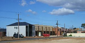 Brompton, South Australia - Housing development in Brompton