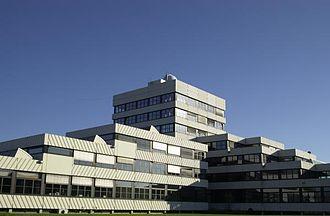 Lemgo - Main building of the OWL University on Campus Lemgo (2010)