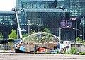 Hudson Yards IRT canopy fr 10 Av jeh.jpg