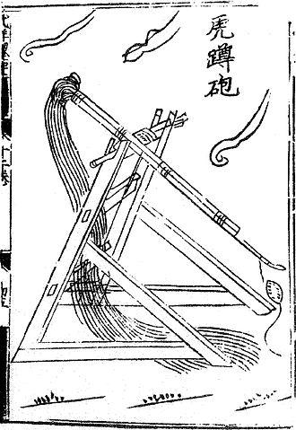 Mangonel - Image: Hudunpao wujingzongyao
