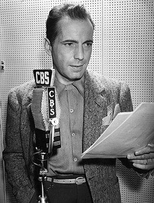 Schauspieler Humphrey Bogart