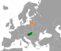 Hungary Lithuania Locator.png