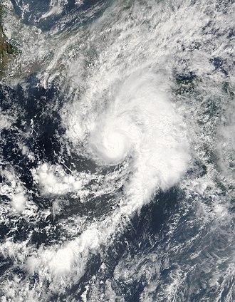 2005 Pacific hurricane season - Image: Hurricane Adrian May 19 915