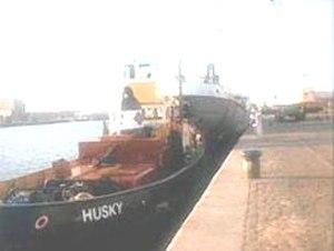 Radio North Sea International - Husky at Scheveningen