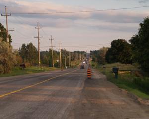 Ontario Highway 27 - Highway 27 south of Schomberg