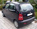 Hyundai Atos Prime schwarz Heck.JPG